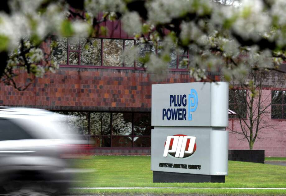 Exterior of Plug Power on Thursday, April 30, 2020, in Colonie, N.Y. (Will Waldron/Times Union) Photo: Will Waldron, Albany Times Union