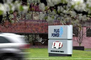 Exterior of Plug Power on Thursday, April 30, 2020, in Colonie, N.Y. (Will Waldron/Times Union)
