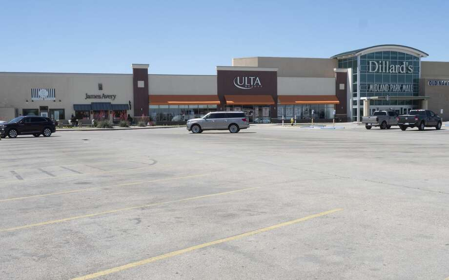 The Midland Park Mall, seen 04/30/2020, will open for customers Friday. Tim Fischer/Reporter-Telegram Photo: Tim Fischer/Midland Reporter-Telegram