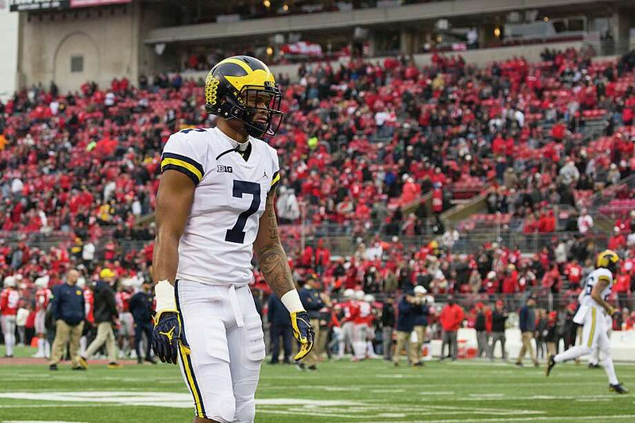 Michigan wideout Tarik Black will enroll at Texas as a grad transfer Photo: WIkipedia Commons