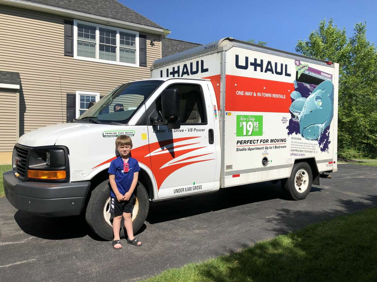 Jack Mahar loves delivery trucks and the people who drive them. The 5-year-old's idea? To set up a refreshment stand, of sorts, for delivery drivers.