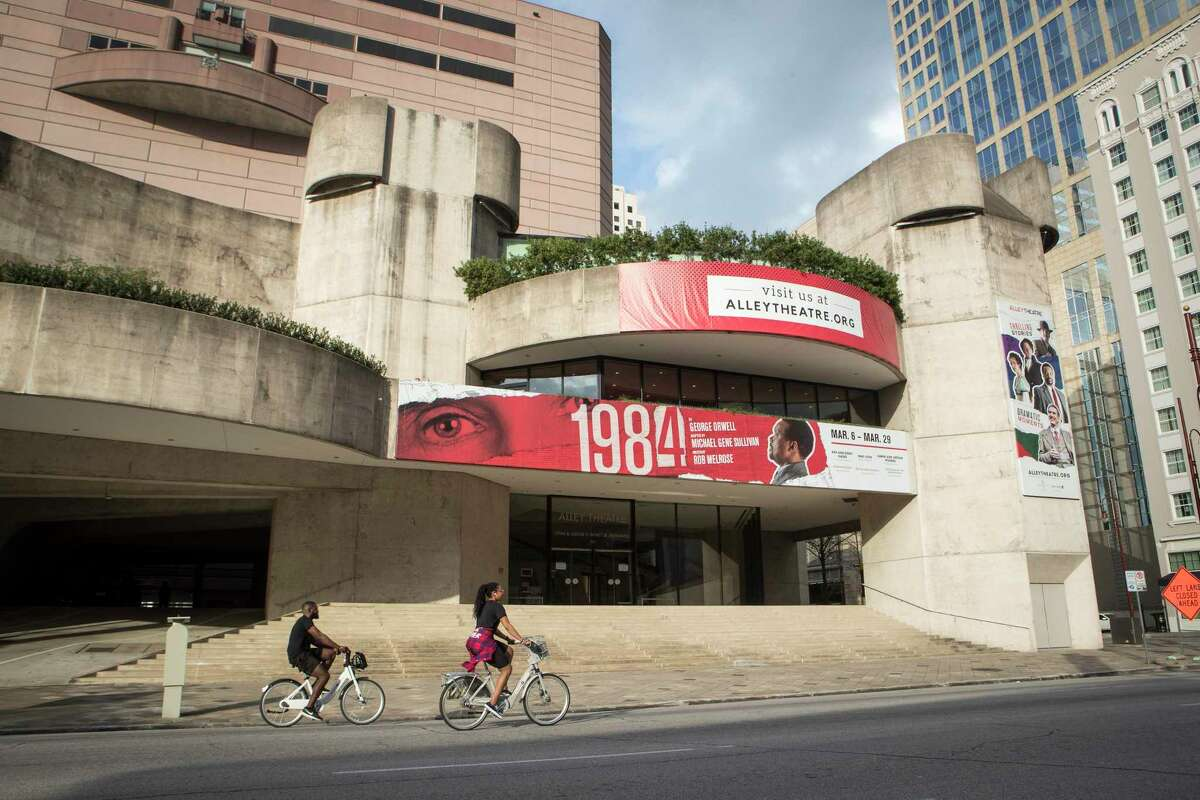 The Alley Theatre is closed for in-person shows, but is offering virtual shows for free online.