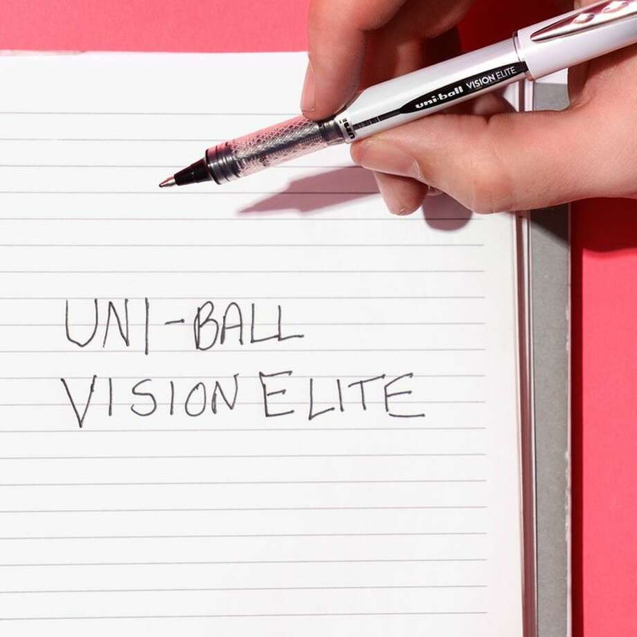 Uni-Ball Vision Elite Rollerball Pen (3-Pack), $4.99 on Amazon Photo: Kayla Ramsey