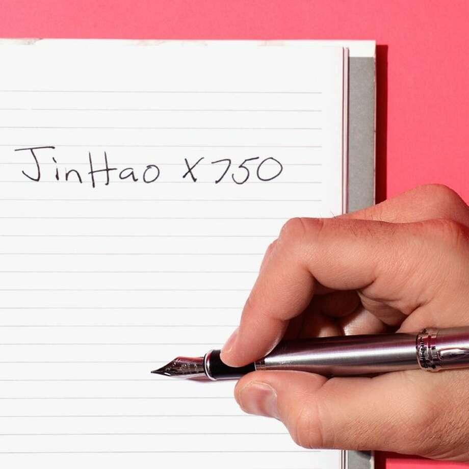 JinHao X750 Medium-Nib Fountain Pen, $7.99 on Amazon Photo: Kayla Ramsey