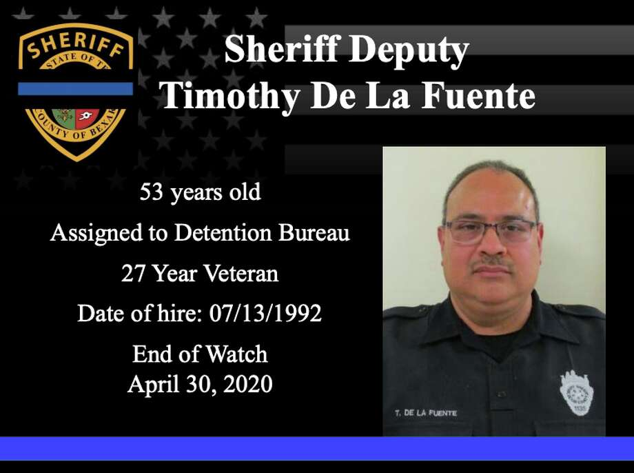 Timothy De La Fuente, a 27-year-veteran of the Sheriff's Office, died Thursday. Photo: Bexar County Sheriff's Office