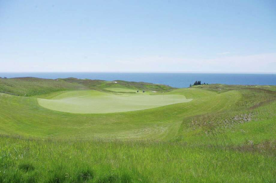 Golf courses, such as Arcadia Bluffs, are now open after restrictions were loosened byGov. Gretchen Whitmer. (News Advocate file photo)