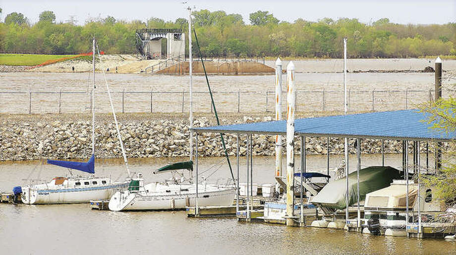 There was little activity at the Alton Marina earlier this week. But that could change greatly this weekend when boaters are again allowed to take their crafts out of the marina and onto the river.