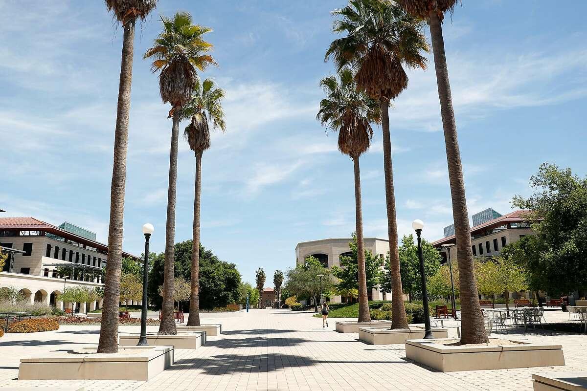 Stanford University in Stanford, Calif., on Monday, April 27, 2020.