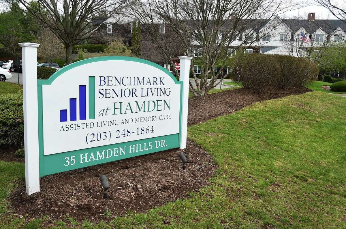 The Benchmark Senior Living at Hamden assisted living and memory care facility photographed on March 31, 2020.
