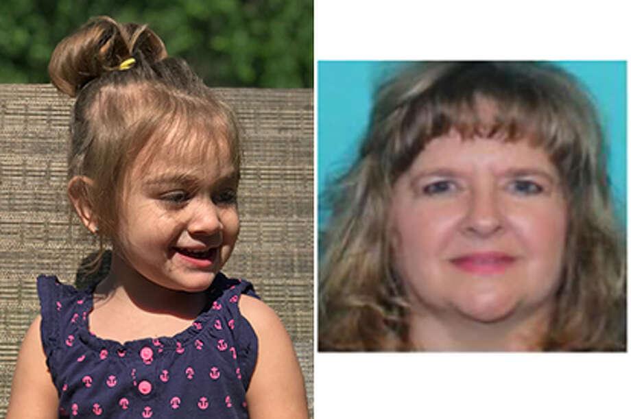 Aurora Lopez and suspect Sherry McGill Photo: Missingkidslopez.jpg