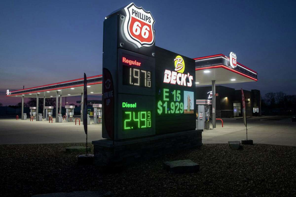 Houston refining and pipeline company Phillips 66 said earlier this month that sales and profits plunged during the first quarter as demand for refined products fell.