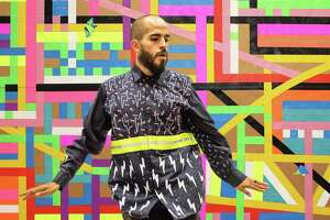 Visual artist Raul Gonzalez received a grant from the Luminaria Artist Foundation.