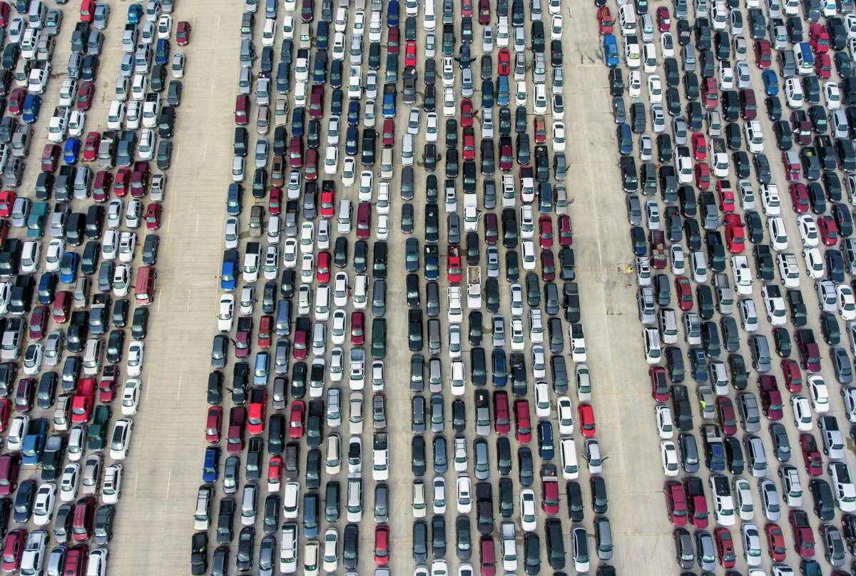 The compelling drone shot, taken by San Antonio Express-News staff photographer William Luther, received national attention as one of the first to show the heartbreaking hardship brought on by the pandemic. The scene of vehicles stretching for miles at Trader's Village, motivated millions of dollars in donations to support the food bank. On Sunday, CBS featured the iconic photo in a segment about San Antonio's food crisis and interviewed Luther.
