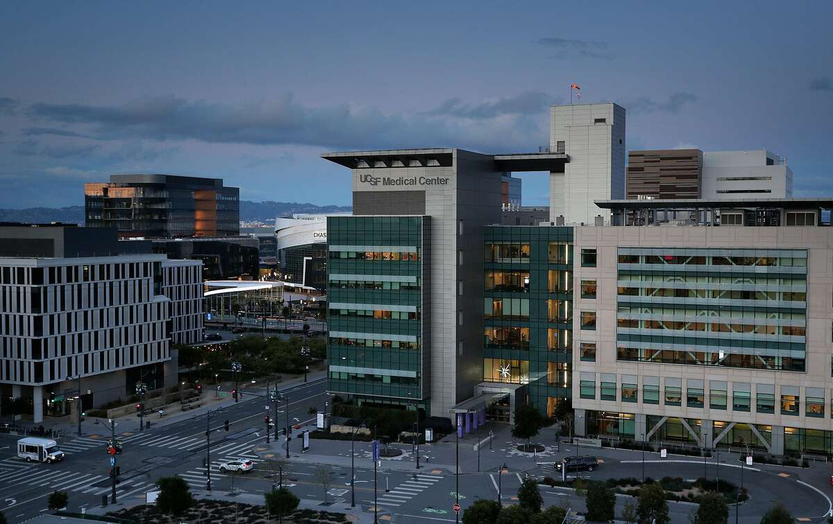 The UCSF Medical Center in Mission Bay in San Francisco, Calif., on Wednesday, March 25, 2020.
