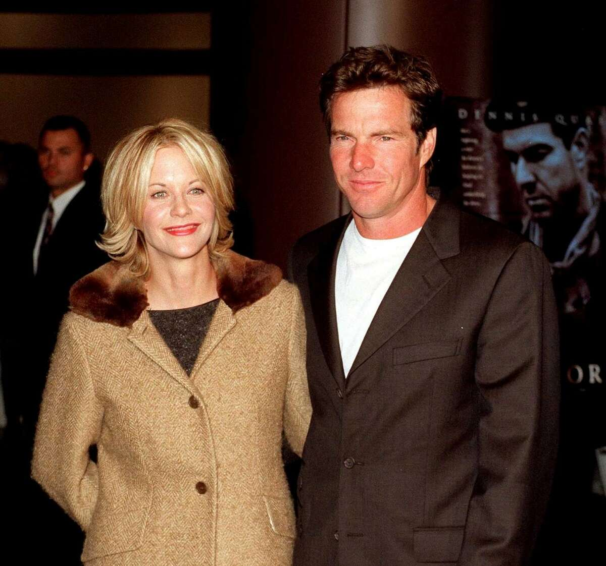Meg Ryan and Dennis Quaid, who met on the set of the 1988 neo-noir