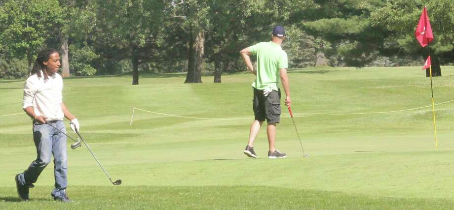 Golfers are now playing at Marquette Trails Golf Club near Baldwin. (Pioneer file photo)