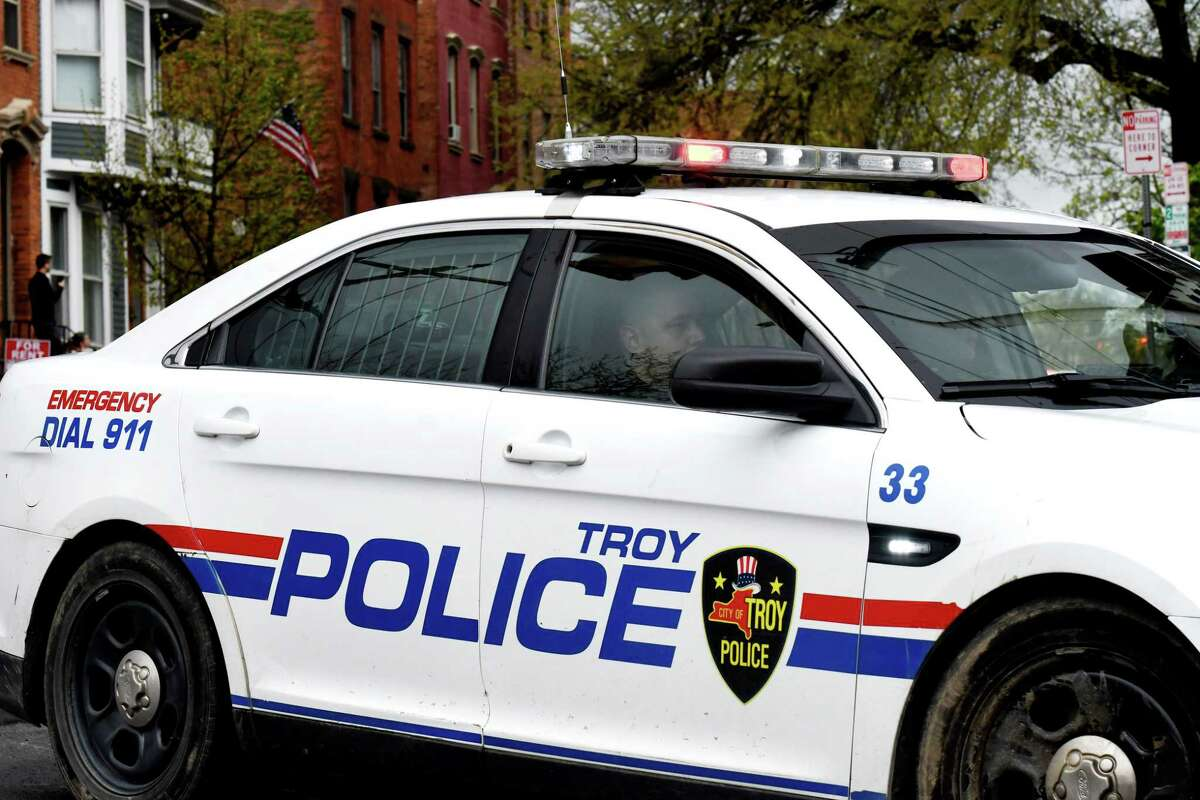 Troy Police Department. (Will Waldron/Times Union)