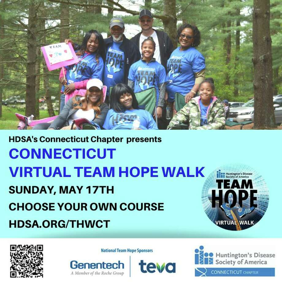 A walk to support the Huntington's Disease Society is set for May 17. Photo: Contributed Photo