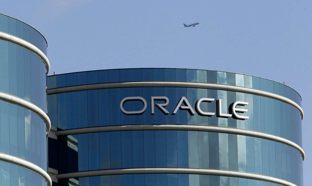FILE - In this March 22, 2011 file photo, the exterior of Oracle headquarters is shown in Redwood City, Calif. Oracle Corp. is scheduled to report its fiscal third quarter results Thursday, June 23, 2011, after the market close.~~