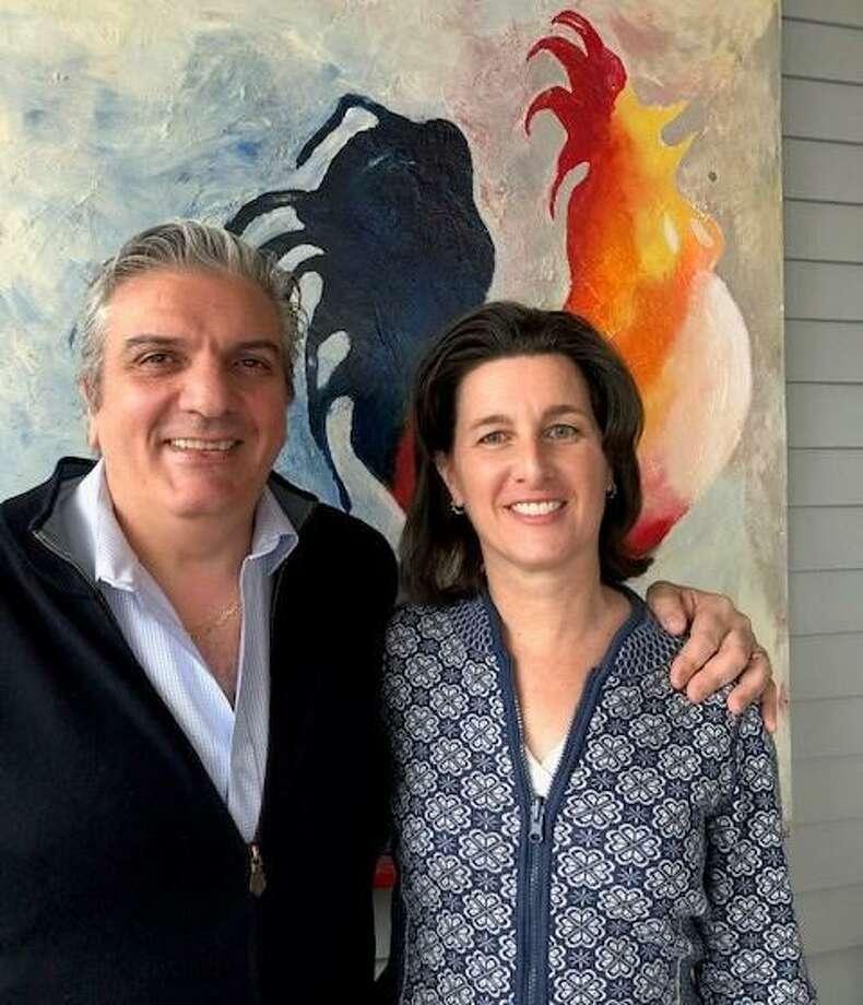 Raffaele Gallo and Glori Norwitt of Ridgefield. Photo: Contributed Photo