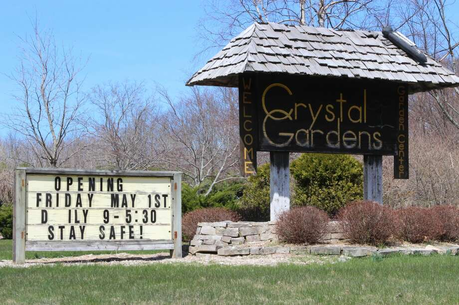 Crystal Gardens opened on Friday, a week after Gov. Gretchen Whitmer lifted restrictions requiring garden centers to stay closed. (Photo/Colin Merry) Photo: (Photo/Colin Merry)