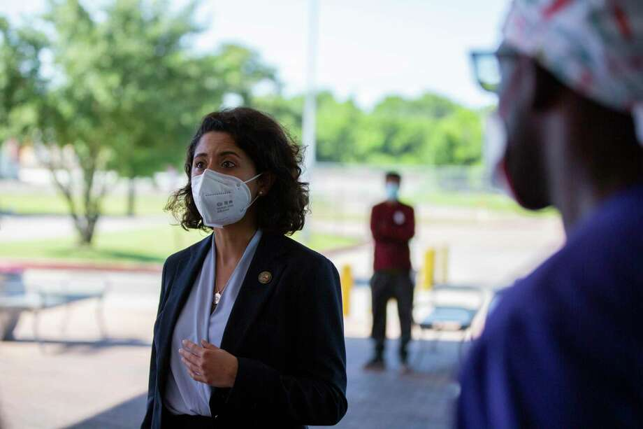Harris County Judge Lina Hidalgo has extended the county's stay-home, work-safe order through May 20. Photo: Marie D. De Jesús, Houston Chronicle / Staff Photographer / © 2020 Houston Chronicle