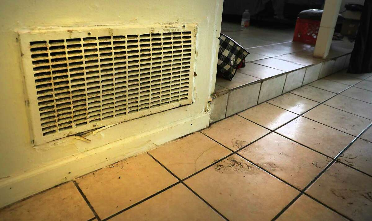 Alvin Brown, a renter at Spanish Oaks Apartments which is owned by Trif, has received a notice to vacate, on Tuesday, April 21, 2020. The return vent is full of mold.