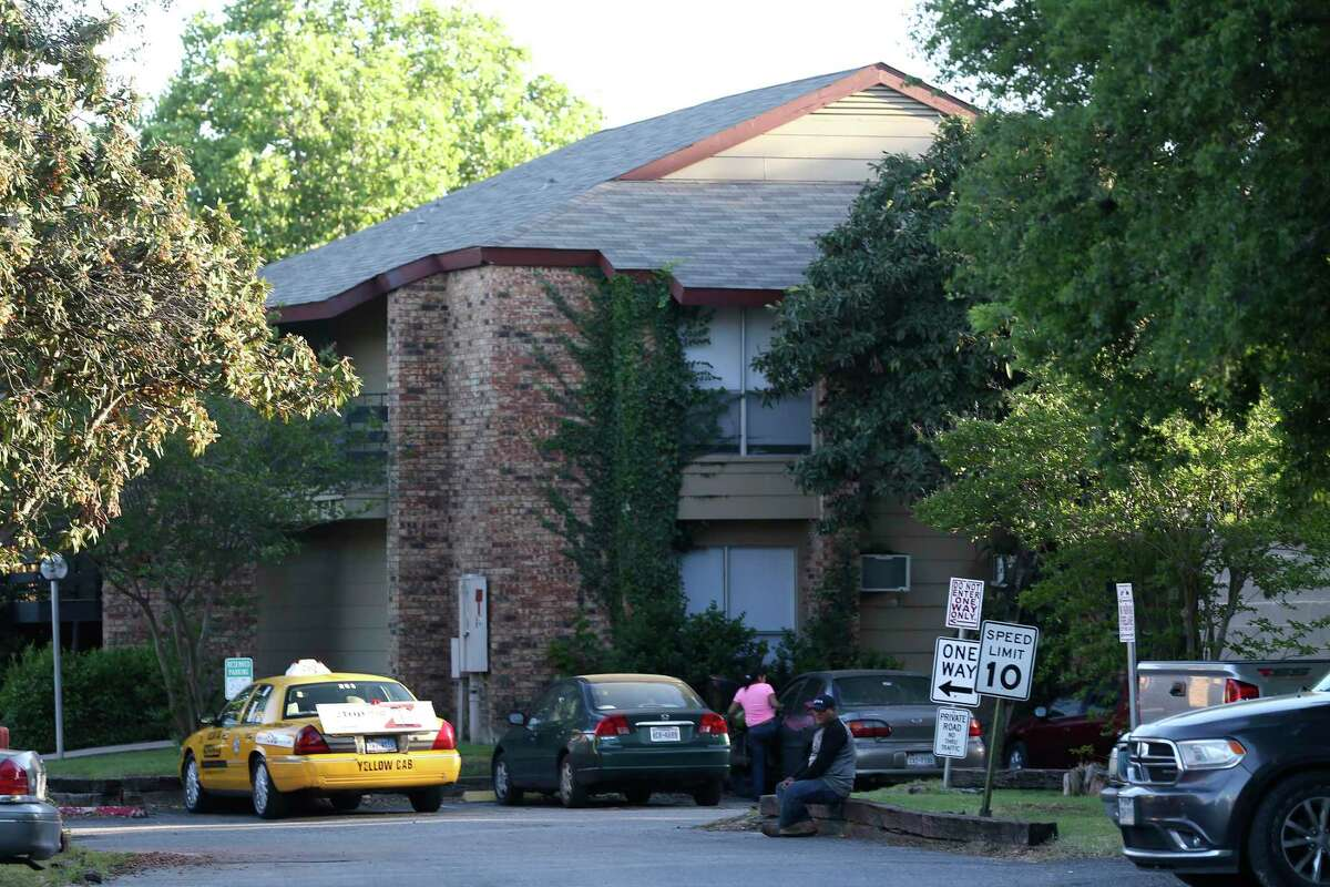 An estimated 50 tenants were locked out of the Olmos Club Apartments in April amid the coronavirus pandemic.