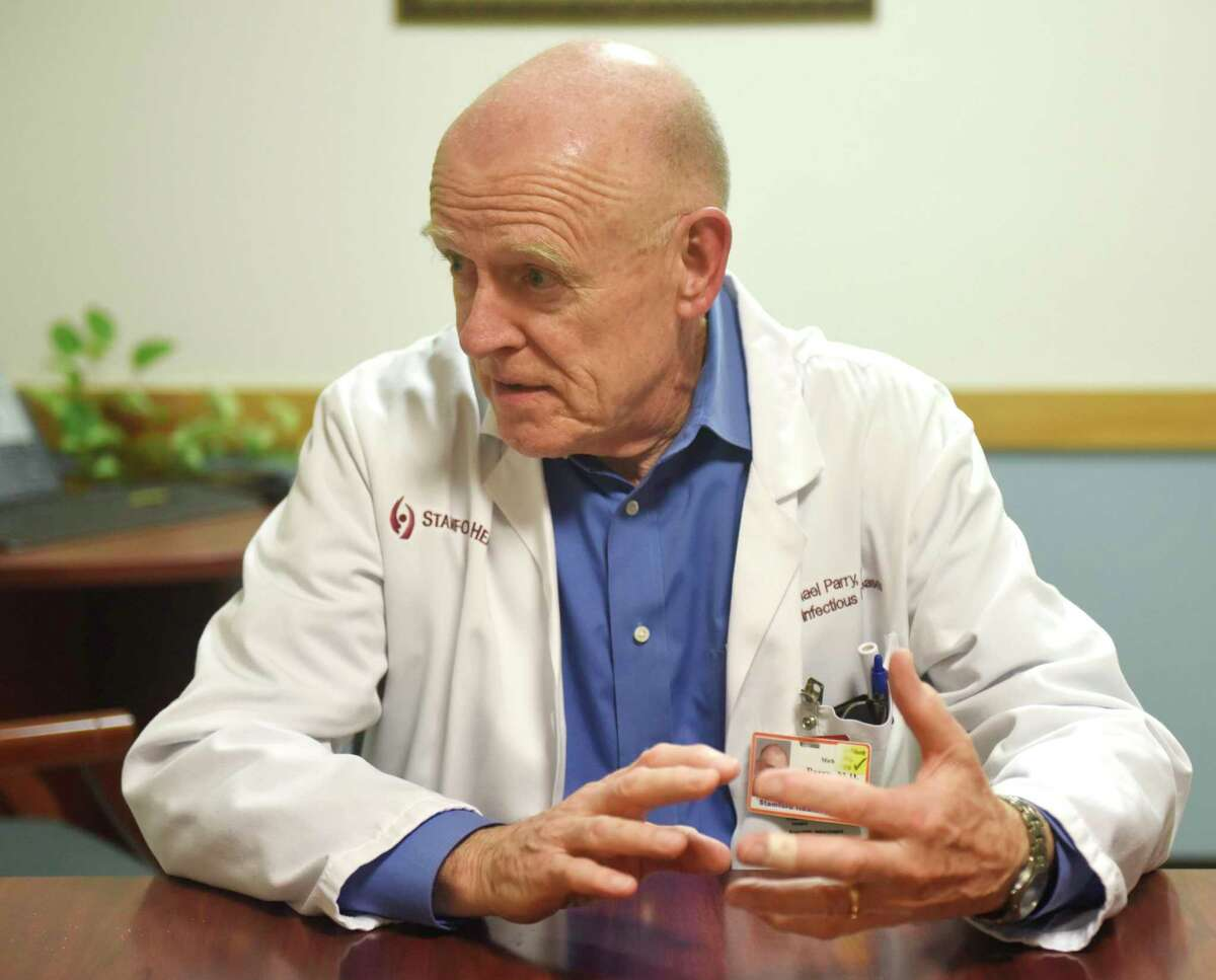 Stamford Hospital Chairman of Infectious Diseases Dr. Michael Parry