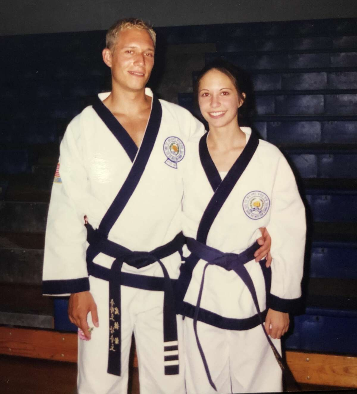 1. I got my black belt in karate when I was 15 years old. My first job then followed as a karate instructor.