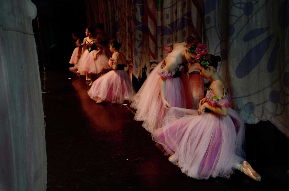 Chief photographer Kim Brent's picture of Beaumont Civic Ballet members at the Julie Rogers Theatre last December earned recognition from the Texas Associated Press Managing Editors in the 2019 Features Photography competition. Kim Brent/The Enterprise Photo: Kim Brent / Kim Brent/The Enterprise / BEN