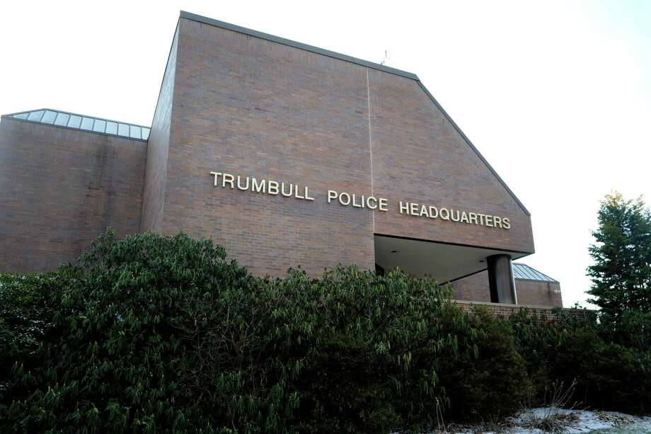 File photo of the exterior of Trumbull Police headquarters, in Trumbull, Conn., taken on Jan. 14, 2016. Photo: Ned Gerard / Hearst Connecticut Media / Connecticut Post