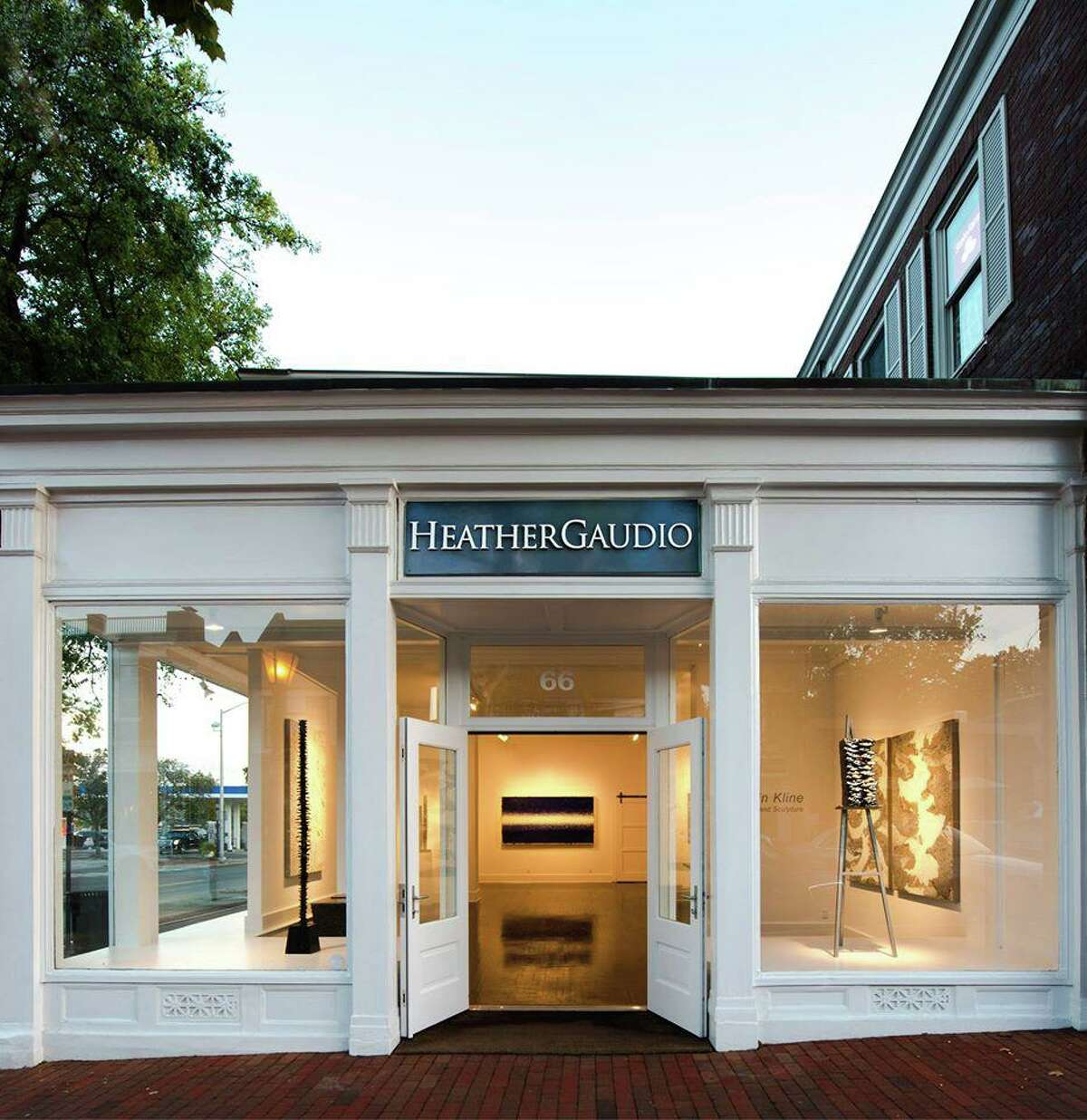 Heather Gaudio Fine Art, on Elm Street in New Canaan, has exhibits the should be viewed in person to be fully appreciated.