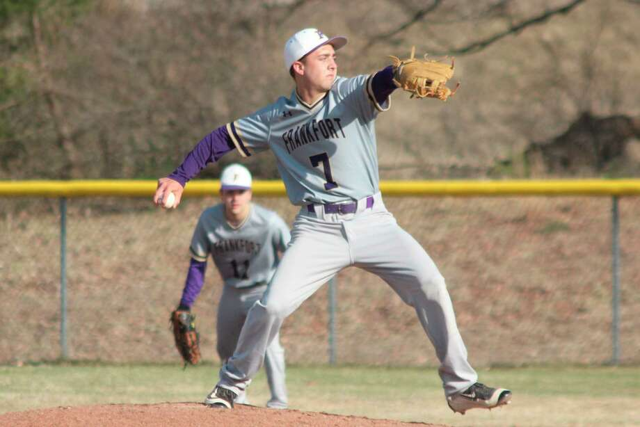Camryn Lewis delivers a pitch for the Panthers as a freshman in 2019. (File photo)