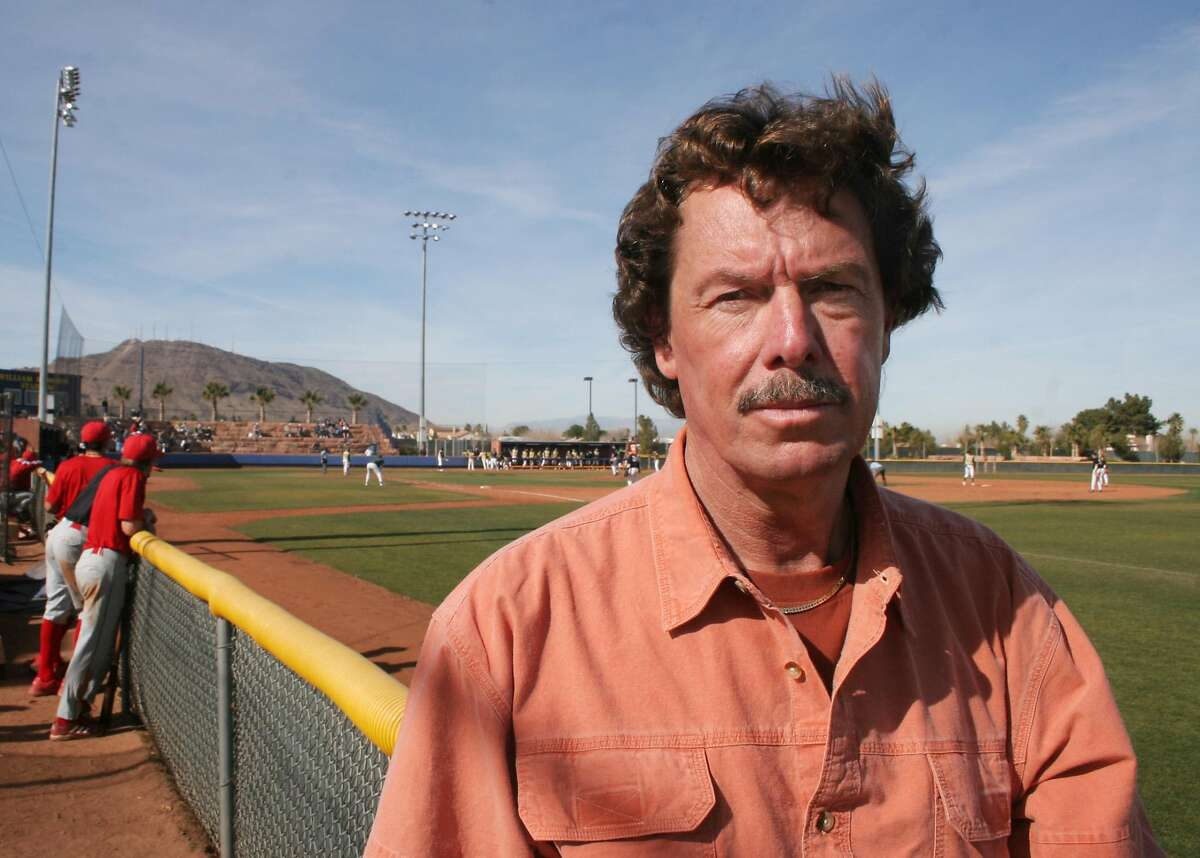 Oakland A's former pitcher Matt Keough attends his son's baseball game at the 7th Annual Community College of Southern Nevada Coyote Classic at William R. Morse Stadium Friday, Feb. 3, 2006 in Henderson, Nev. Photo by Ronda ChurchillRan on: 02-14-2006 Saddam Hussein rants during his trial.