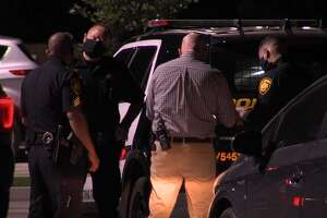 San Antonio police investigate a shooting on the West Side Sunday, May 3, 2020.