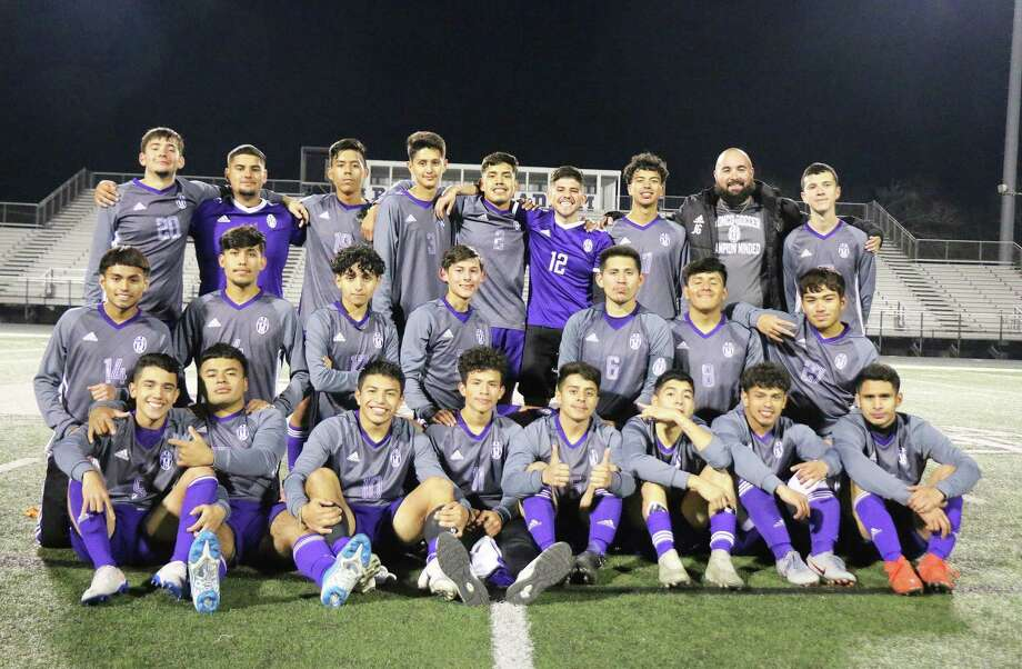 The 2019-2020 Dayton Boys Soccer team was named the District Champions of 21-5A after their successful season by the coaches in the district. Photo: David Taylor / Staff Photo