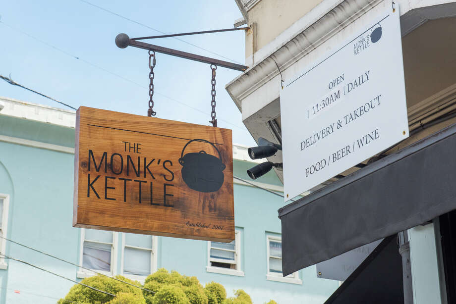 Monk's Kettle is one of the small businesses that managed to secure a PPP loan in the first round. The money has allowed them to hire back some full-time staff as they continue to-go operations. Photo: Blair Heagerty / SFGate