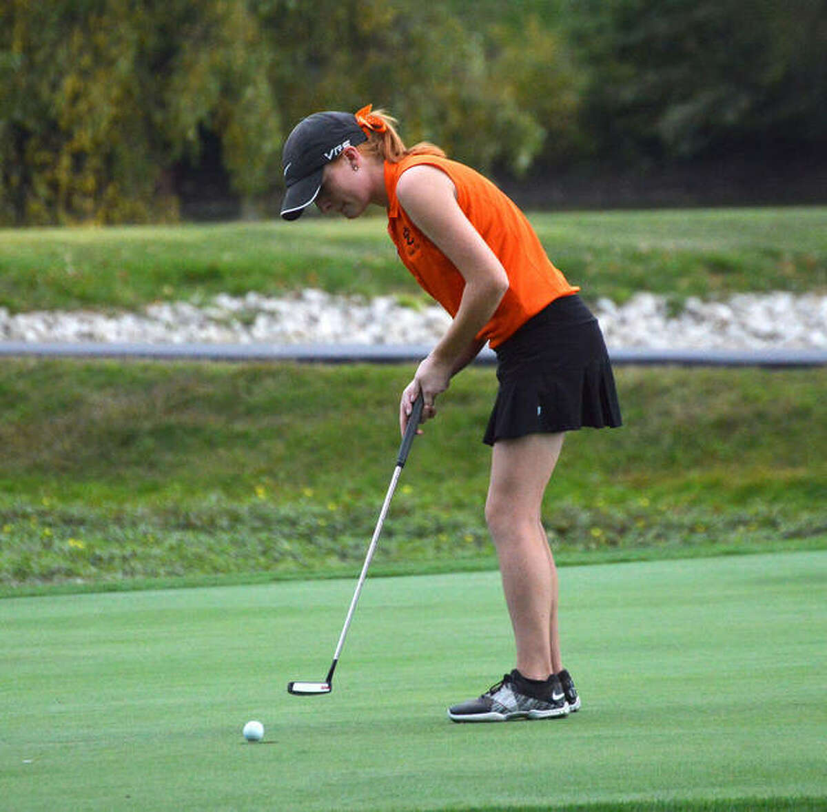 Sam Doak finished second on the team in scoring as a senior, when she was named to the All-SWC first team.