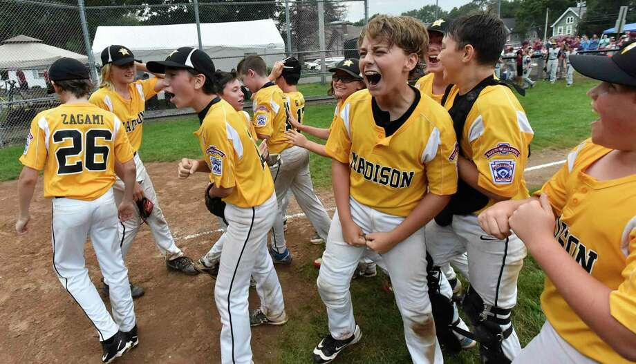 Willimantic , Connecticut -Friday, July 26, 2019: Max Sinoway North Haven Little League team vs. Madison Little League during the State Championship Final Wednesday at the Willimantic Little League Lower Legion Field in Willimantic . The winner goes to Bristol Connecticut for the New England Regional Playoffs. Final Score: Madison defeated North Haven 6-0. Photo: Peter Hvizdak / Hearst Connecticut Media / New Haven Register