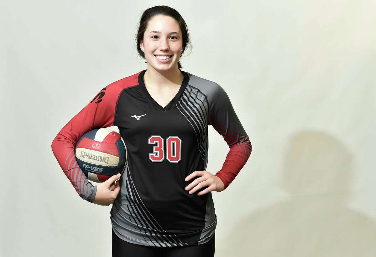 New Haven, Connecticut - Tuesday, November 26, 2019: Name: Lindsey Abramson All Area: Volleyball School: Cheshire HS