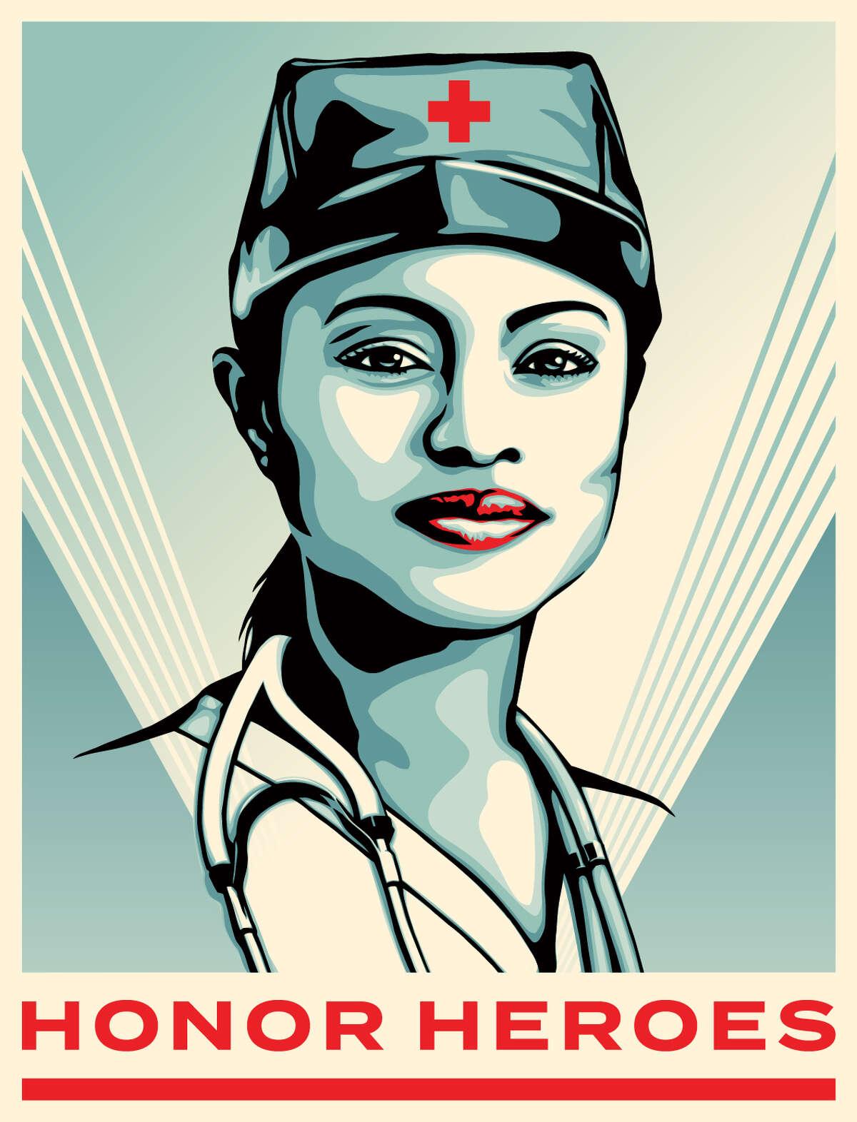 Heroes ArtistShepard FaireyHonoring: Heathcare Workers