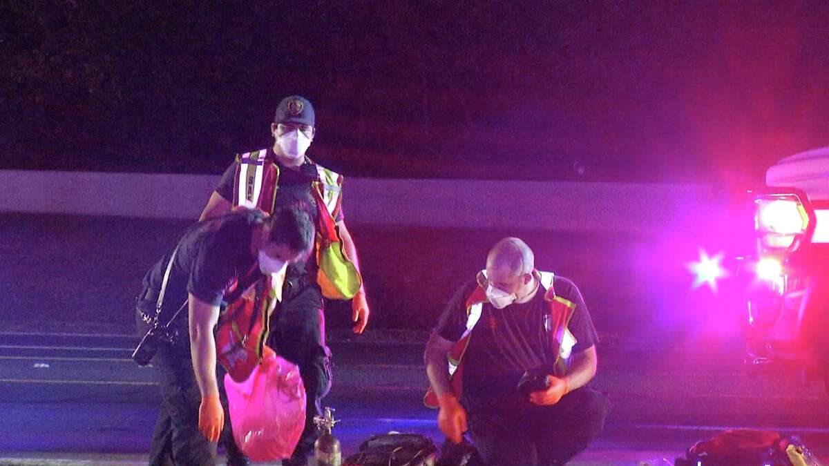 One woman is dead after getting hit by a vehicle on the North Side Sunday night.