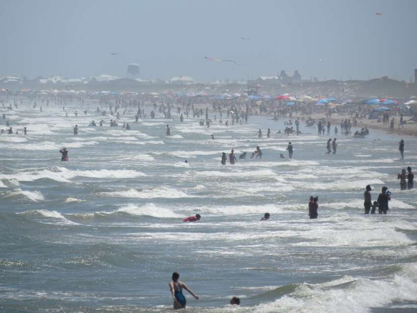 What about beaches? Bottom line: The risk is high if you are at a crowded beach. Even if you try to maintain social distance, the more people in a setting, the more likely you are to come in contact with someone infected with COVID-19, Taylor said. The number of people in a place matters, she added. Touching beach amenities, such as the bathroom door handle, also puts you at risk.
