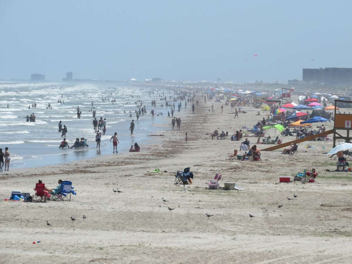 During its closure, Port Aransas officials only allowed visitors to use the beach for exercising purposes. Tompkins said the beach was