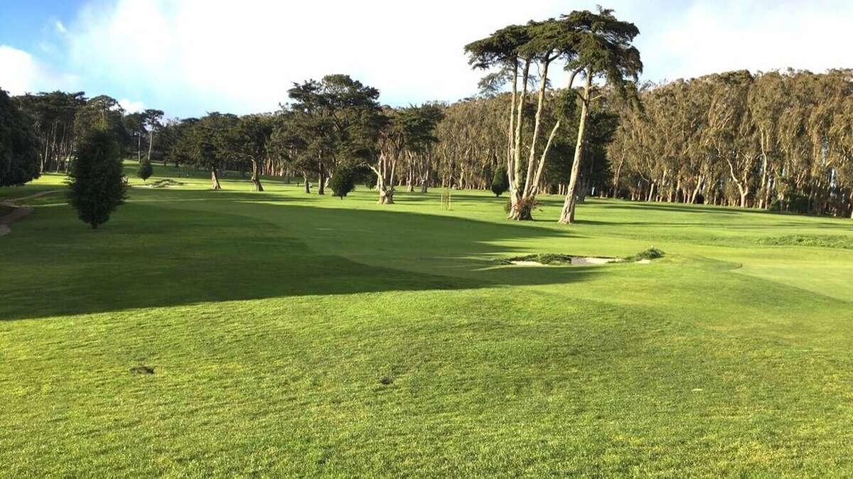 San Francisco's Presidio golf course reopened Monday.