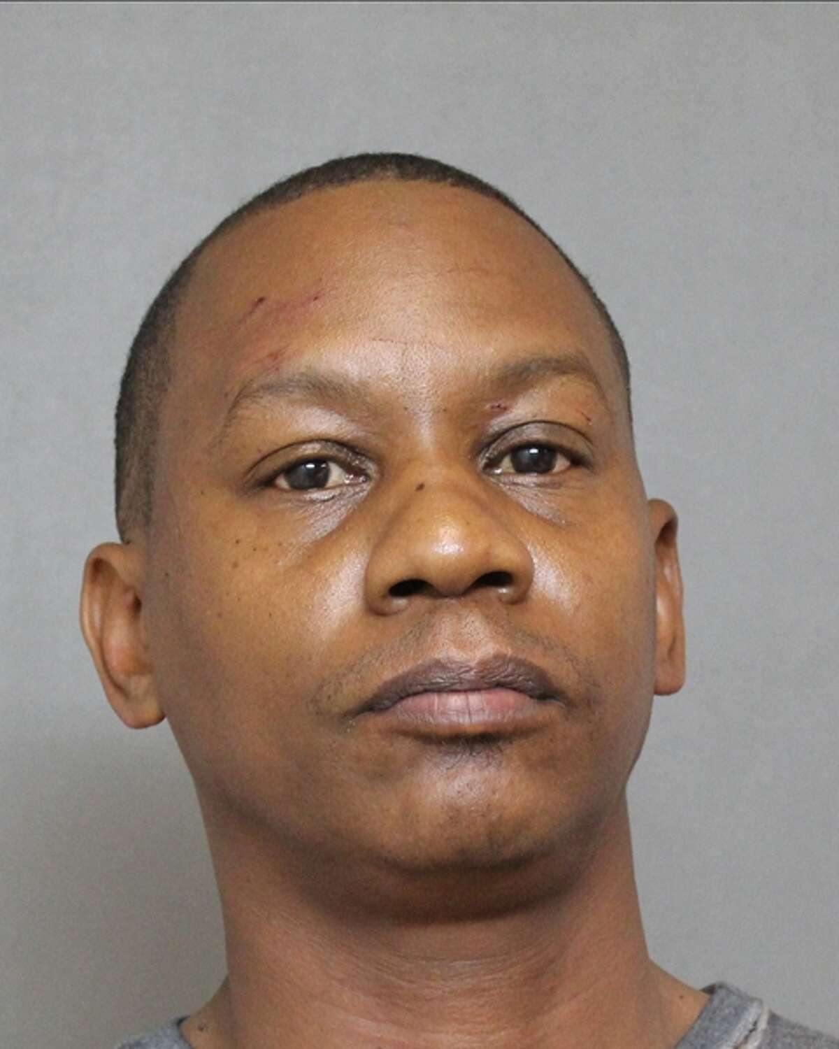 Christopher Sedrick Brown, 46, was charged with felony possession of marijuana and evading arrest with a motor vehicle.