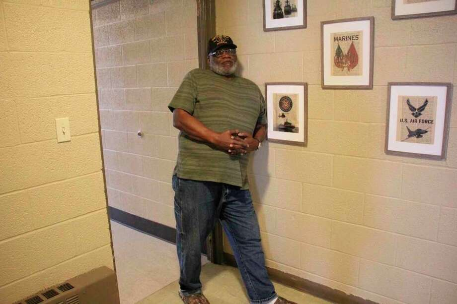 Reginal Daniel is happy living at Fiddler's Green. (Sara Eisinger/ Huron Daily Tribune)