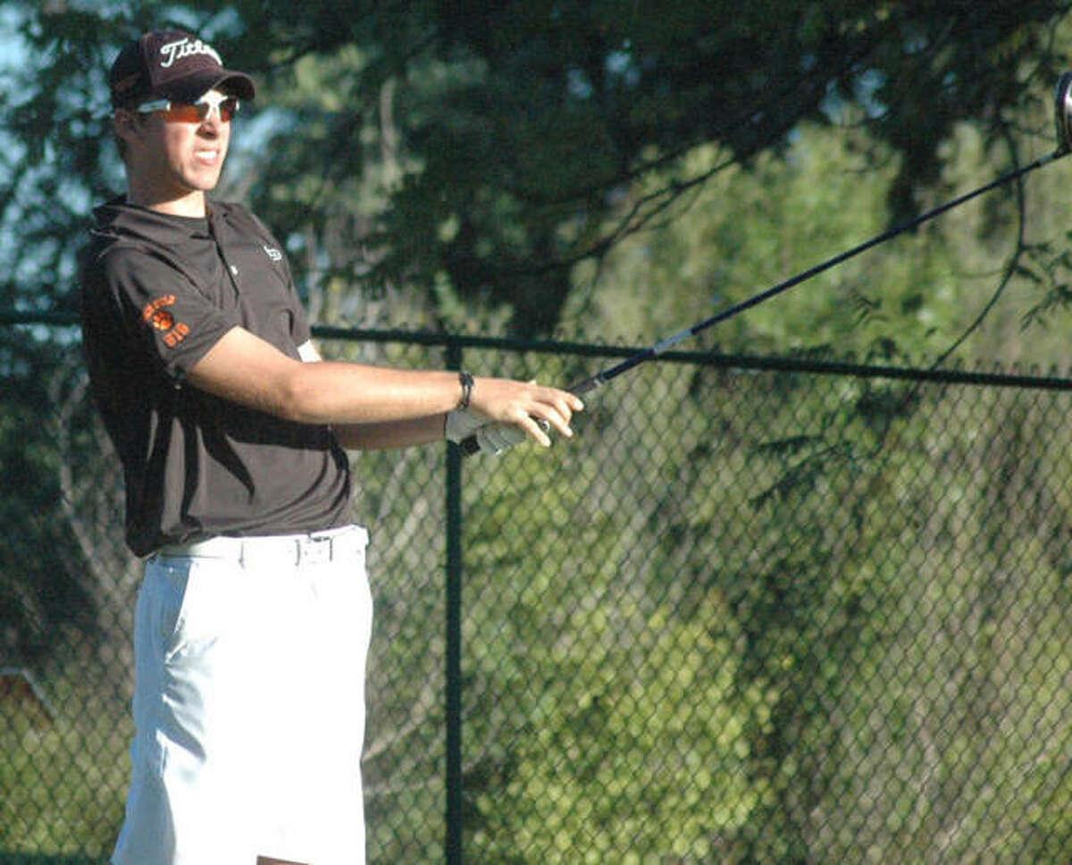 Drew Curtis was a three-sport standout during his prep days at Edwardsville.