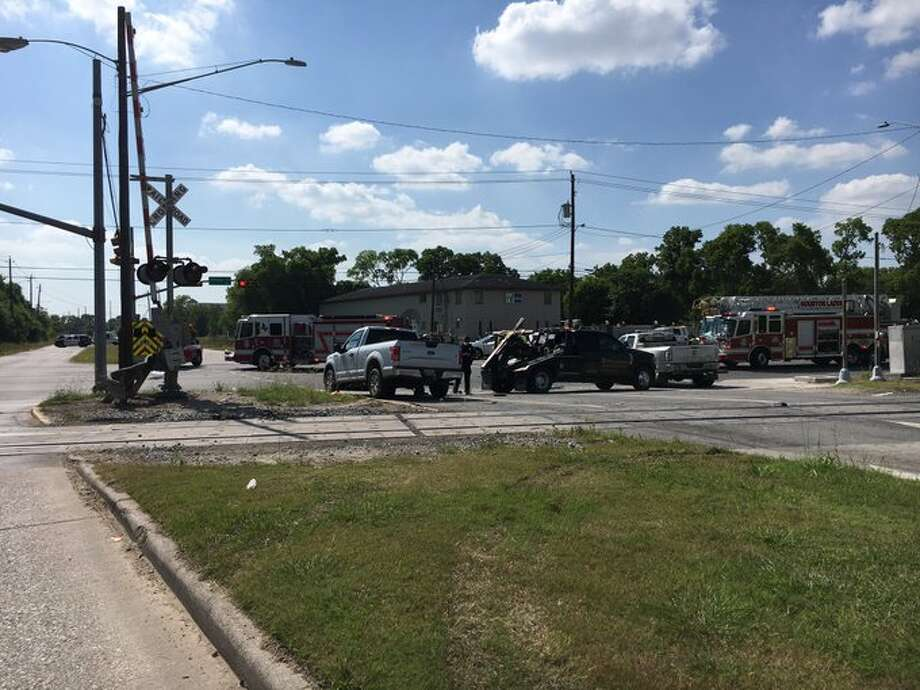 One person was killed Monday in a multi-car crash in south Houston, police said. Photo: Houston Police Department